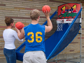 Dallas Carnival Game Rentals: 1 on 1 Hoops Basketball