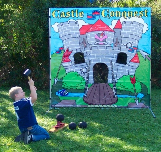 Dallas Carnival Game Rentals: Castle Conquest