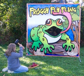 Dallas Carnival Game Rentals: Froggy Fly Fling