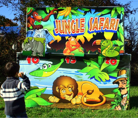 Dallas Carnival Game Rentals: Jungle Safari