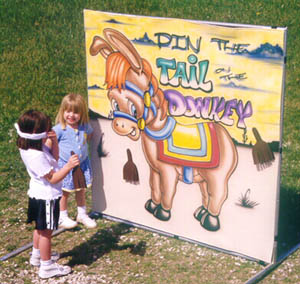 Dallas Carnival Game Rentals: Pin the Tail on the Donkey