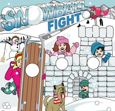 Dallas Carnival Game Rentals: Snowball Fight