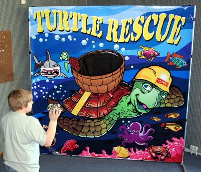 Dallas Carnival Game Rentals Turtle Rescue