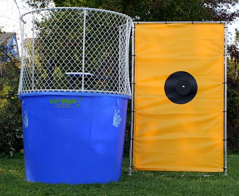 Dallas Carnival Game Rentals: Dunk Tank