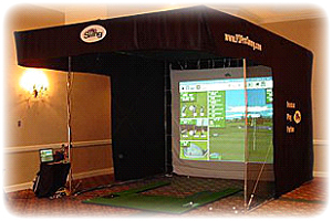 Dallas Carnival Game Rentals: Golf Simulator